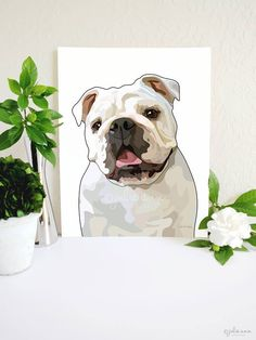 From the original English Bulldog illustration to the museum-quality paper, each detail has been carefully designed to create a piece of art you'll want beautifying your home for years to come.       -- English Bulldog Art Print, English Bulldog Art, Bulldog Wall Art, English Bulldog Gifts, Dog Lover Gift, Dog Breed Decor, Dog Art, Dog Decor
