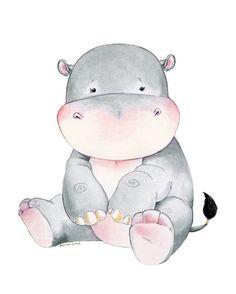 Hippopotamus Hippo Baby Hippo Watercolor Hippo Nursery Hippo Art Hippo Themed Hippo Nursery Watercolor Nursery Nursery Decor - Choosing A Baby Name - ideas of Choosing A Baby Name - Hippopotamus Hippo Baby Hippo Watercolor Hippo Nursery Nursery Prints, Nursery Art, Nursery Decor, Watercolor Animals, Watercolor Paintings, Watercolour, Animal Drawings, Cute Drawings, Hippo Drawing