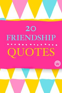 Bff, bffl, besties—whatever you call them, friends make our worlds go round. These 20 quotes about friendship from Hallmark are the perfect way to tell your best friends just how much they mean to you!