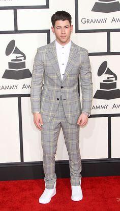 Nick Jones at the 2015 Grammys