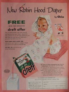DREFT Original 1950's Vintage Advertising by VintagePaperGallery, $7.50
