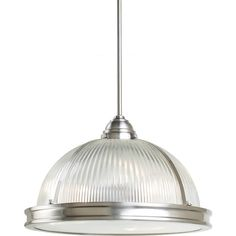Sea Gull Lighting Pratt Street Prismatic 3 Light Pendant & Reviews | Wayfair