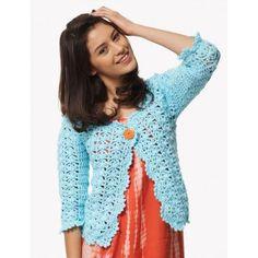 Free Intermediate Women's Cardigan Crochet Pattern