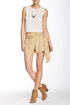 Free People - Printed Wrap Short at Nordstrom Rack. Free Shipping on orders over $100.