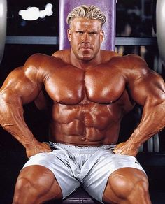 Jay Cutler 4 time Mr. Olympia.