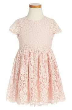 Bardot Junior Short Sleeve Lace Dress (Little Girls & Big Girls) available at #Nordstrom