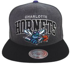 91f346a10f5 Charlotte Hornets Retro Mitchell   Ness Block Snapback Cap Hat Charcoal  Black by Mitchell   Ness.  29.99. Brand new retro snapback cap.