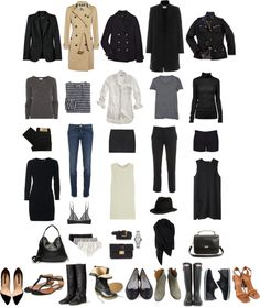 """Wardrobe Essentials"" by coffeestainedcashmere ❤ liked on Polyvore"