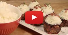 Make Mini Meatloaf Cupcakes On The Grill