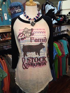 Show+Pig+Faith+Family+and+Stock+Showin+by+SilverSteerBoutique,+$48.00