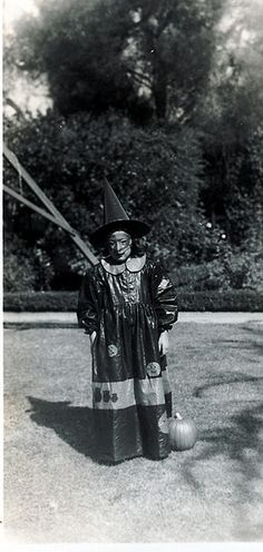 Witch Costume from Hell...Vintage Halloween horror...Horror...HORROR!!