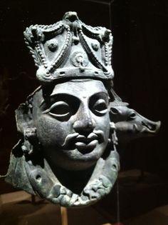 Mask of Vishnu as Para Vasudeva - Date: 5th century  - Digitized: 2012 at the Metropolitan Museum of Art