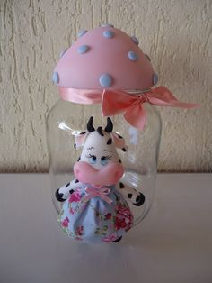 Clay Crafts, Diy And Crafts, Pasta Flexible, Easter Crafts, Mason Jars, Polymer Clay, Projects To Try, Valentines, Ceramics