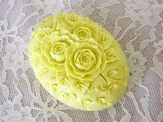 ソープカービング バラSoap carving work#craft