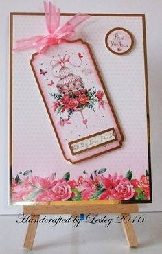 A birthday card made using Love Blossoms kit from Hunkydory. More details can be found at http://stampingbubbles.blogspot.co.uk/2016/10/love-blossoms.html