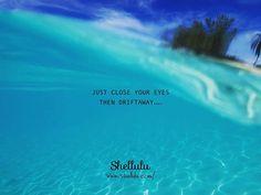 . JUST CLOSE YOUR EYES THEN DRIFTAWAY.... . . #shellulu #float #aquaholic #beachbum ##beachpeople #oceanpeople #ripple #calm #wave #bluewater #underwater #underthesea #bimini #biminiisland #bahamas #ビミニ島 #バハマ