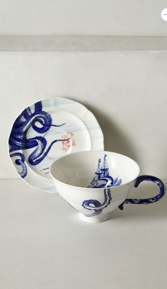 serious love for this cup and saucer