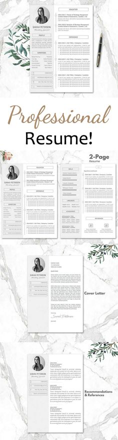 Love this resume template! Perfect for the creative career person - creative resume templates for mac