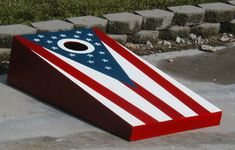 Cornhole..one of the best block party games you can have.  Everyone loves to play!