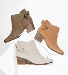 Back bow booties | Sole Society Binx
