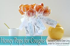 Make honey pops to treat coughs and sore throats naturally (and deliciously!)