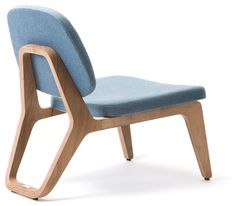 Lounge chair - MoonLounger by Gerd Couckhuyt - Belgian design - Wildspirit