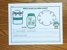 Spring Opinion Writing by Simply Kinder | Teachers Pay Teachers