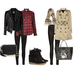 """""""How to Wear Sneaker Wedges"""" by stepkasia on Polyvore"""