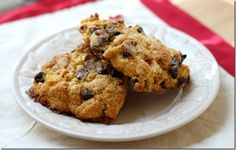 Chocolate chip pumpkin scones