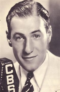 Vocalist, Buddy Clark - (July 26, 1912 - October 1, 1949) - Buddy Clark died in a plane crash at 37 years old