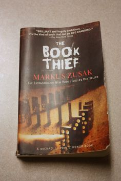 The Book Thief by Markus Zusak // Book Review