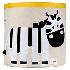 Zebra Storage Bin by 3 Sprouts