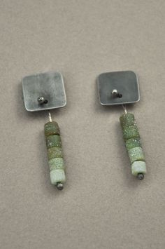 Holly Masterson earrings - jade
