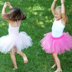 Easy No Sew Tutu     If you need some quick and easy tutu instructions you're at the right place. These are great gifts and great for the kids to play in! They love pretending to be little ballerinas. Great for pictures too!