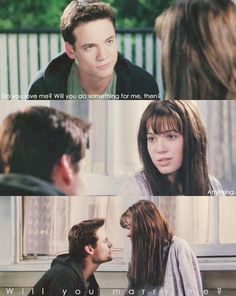 Love this, my first Nicholas Sparks book/movie I loved. Love Movie, Movie Tv, Nicholas Sparks Books, Sparks Movies, Walk To Remember, Favorite Movie Quotes, Chick Flicks, Movie Lines, Tv Show Quotes