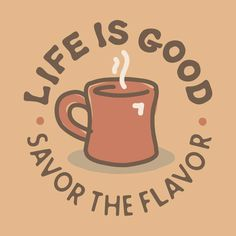 Life Is Good with Organo Gold Healthy Coffee