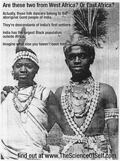 Thee INDIANS--Af-rui-kans, Dravidians and Aborigines