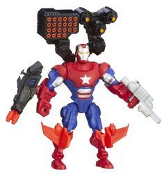 Marvel Avengers Super Hero Mashers Battle Upgrade Iron Patriot -- Want additional info? Click on the image(It is Amazon affiliate link). #LoveForMarvel