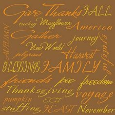 Give Thanks. .  .  .  .  . Always.