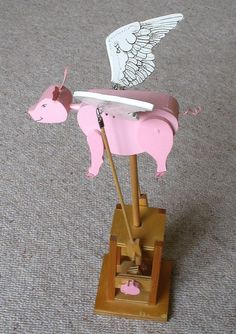 When pigs fly...could be hand cranked...  We have one of these!