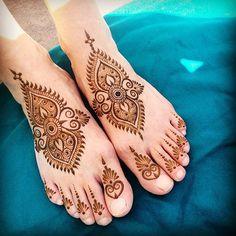 Feet Henna Tattoo #maplemehndi