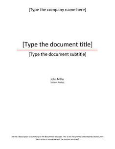 Free Title Page Template By HloomCom  Projects To Try