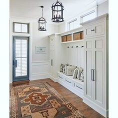 Top 70 Best Mudroom Ideas - Secondary Entryway Designs Mud Rooms, Entryway Storage, Entryway Decor, Ikea Storage, Office Storage, Bathroom Storage, Kitchen Organization, Bag Storage, Small Rooms