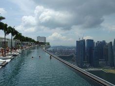 Singapor. Marina Hotel Overflow Pool. NEED.