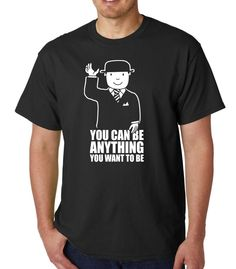 You Can Be Anything You Want To Be (Mr Benn) » Silly Boy T-shirts