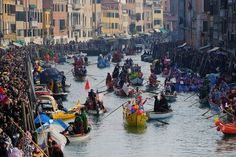 Venice Carnival Brings Out the Masks Regattas and Revelry