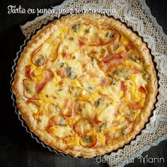 Easy Recipes, Easy Meals, Romanian Food, Cobbler, Quiche, Food And Drink, Pizza, Homemade, Cooking