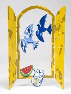 David Gerstein | Israeli Summer Window from the Windows Series by David Gerstein | BellaKoola – BellaKoola - Cool Design Gift & Lifestyle Shop