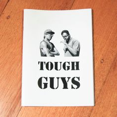 Tough+Guys+is+a+series+of+Black+&+White+portraits+of+Indigenous+guys+living+on+Groote+Eylandt+in+Northeastern+Aus. They+are+throwing+up+various+gang+signs,+wielding+weapons+and+wearing+sick+getup's. First+run+sold+out. Tough Guy, Black And White Portraits, A5, Zine, Weapons, Cool Outfits, Stationery, Black White, Guys