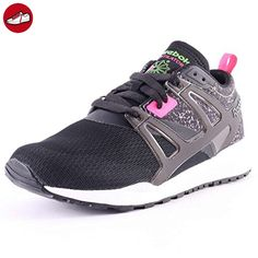 Reebok - One Rush - M44998 - Color: Negro-Violeta - Size: 40.5 7A18WOXgsg